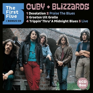 CUBY & BLIZZARDS - THE FIRST FIVE