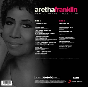 FRANKLIN, ARETHA - HER ULTIMATE COLLECTION