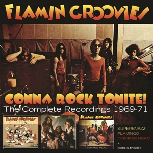 FLAMIN GROOVIES - GONNA ROCK THE COMPLETE RECORDINGS 1969-71 -BOX SET-