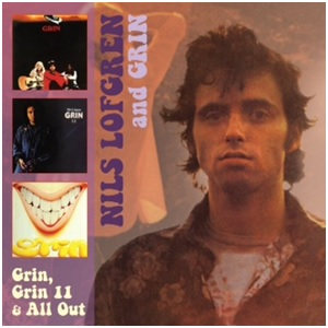 LOFGREN, NILS & GRIN - GRIN, GRIN 1+1/ALL OUT -REISSUE-