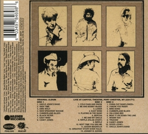 GRATEFUL DEAD - WORKINGMAN'S DEAD -REISSUE-